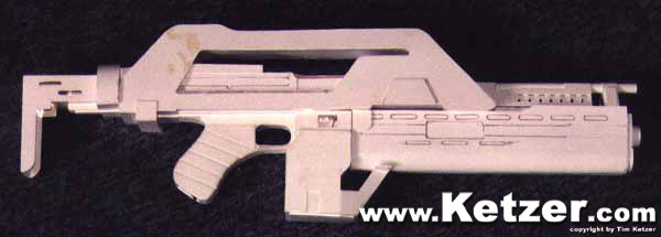 unfinished Pulse Rifle M41A from ALIENS